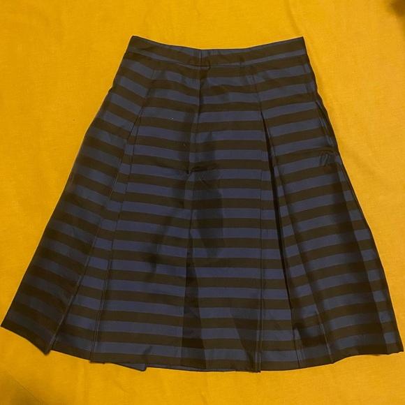 Halogen Blue & Black Skirt
